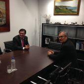Reunión entre los presidente de Puertos del Estado y el Puerto de 'El Musel'