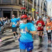 Participantes de la Maratón de Málaga