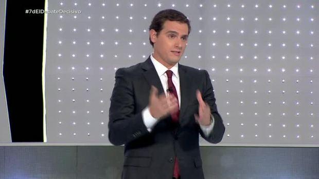 """Albert Rivera: """"Tengo decidido que no estaré ni en el proyecto de Sánchez ni en el de Rajoy"""""""