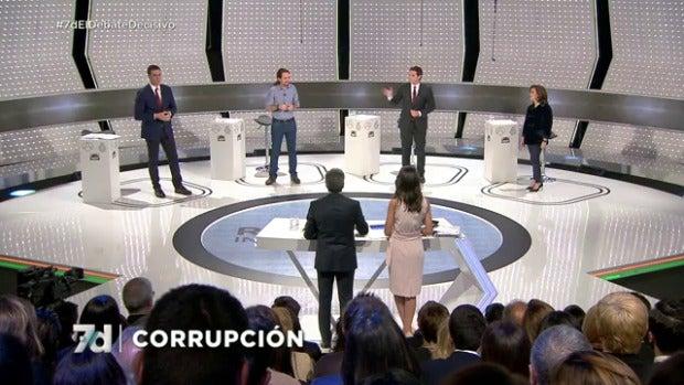Las propuestas de los cuatro partidos sobre corrupción