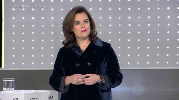 """Soraya Sáenz de Santamaría: """"Somos un partido fuerte de responsabilidad compartida"""""""