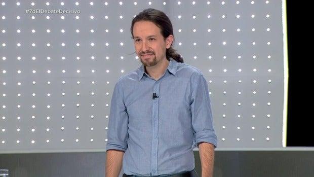 VÍDEO  La primera respuesta de Pablo Iglesias
