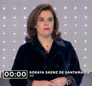 """Soraya Sáenz de Santamaría: """"Nos mueve el entusiasmo de construir una España mejor"""""""