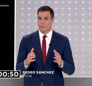 """Pedro Sánchez: """"Tenemos que traer el cambio con el único partido que lo puede garantizar"""""""