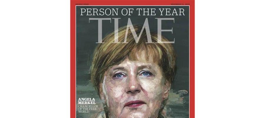 """Angela Merkel, elegida """"persona del año"""" por la revista Time"""