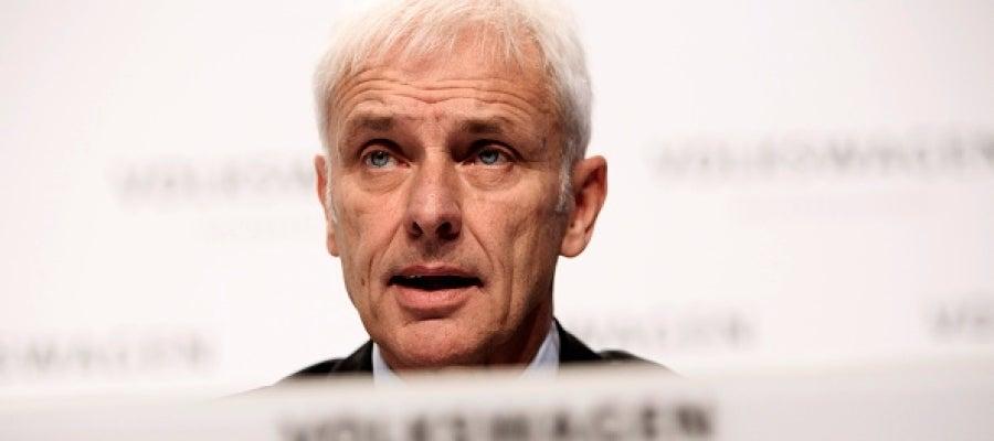 El presidente de Volkswagen, Matthias Müller