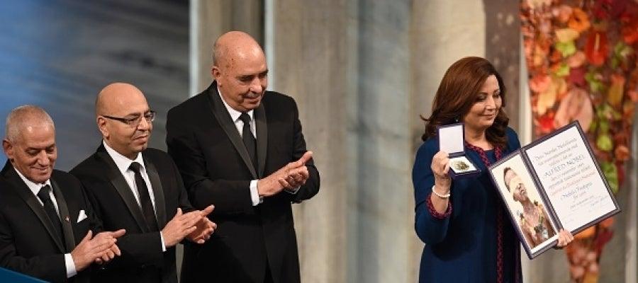 Los miembros del Cuarteto de Diálogo de Túnez reciben el Premio Nobel de la Paz