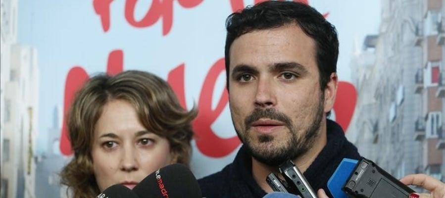 El líder de IU-Unidad Popular, Alberto Garzón