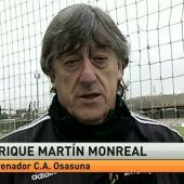Enrique Martín Monreal, técnico de Osasuna