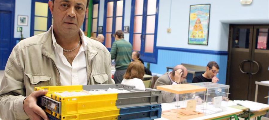 Votos llegados a través de correo postal