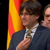 Puigdemont promete el cargo de President