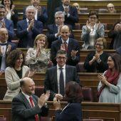 El nuevo presidente del Congreso de los Diputados, Patxi López