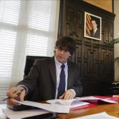 El president catalán, Carles Puigdemont.