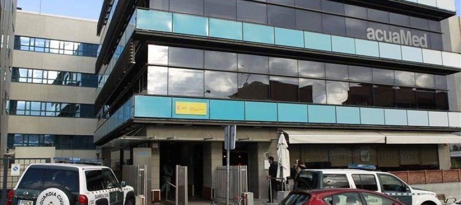 La Guardia Civil registra la sede de Acuamed, dependiente del Ministerio de Agricultura