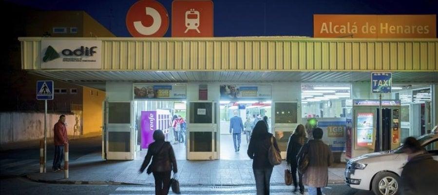 La estación de Cercanías de Renfe de Alcalá de Henares