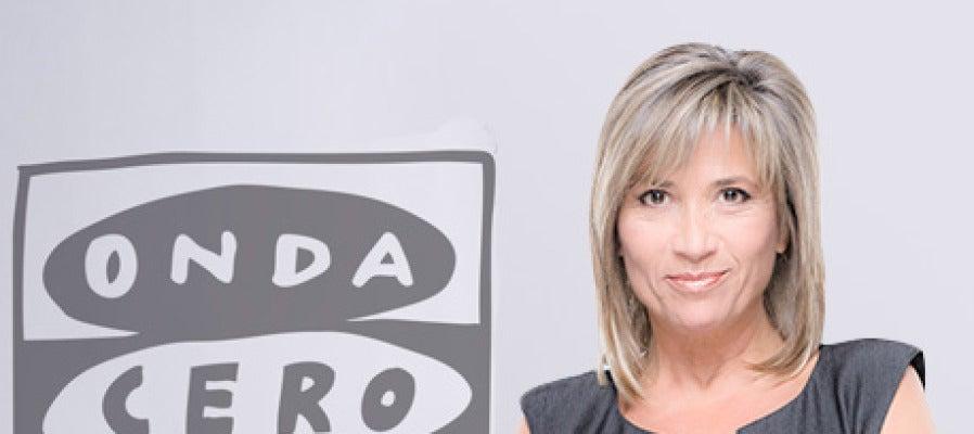 Julia Otero, presentadora de Julia en la onda
