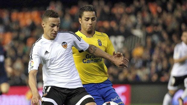 """Rodrigo Moreno: """"El arbitraje ha perjudicado claramente al Valencia"""""""