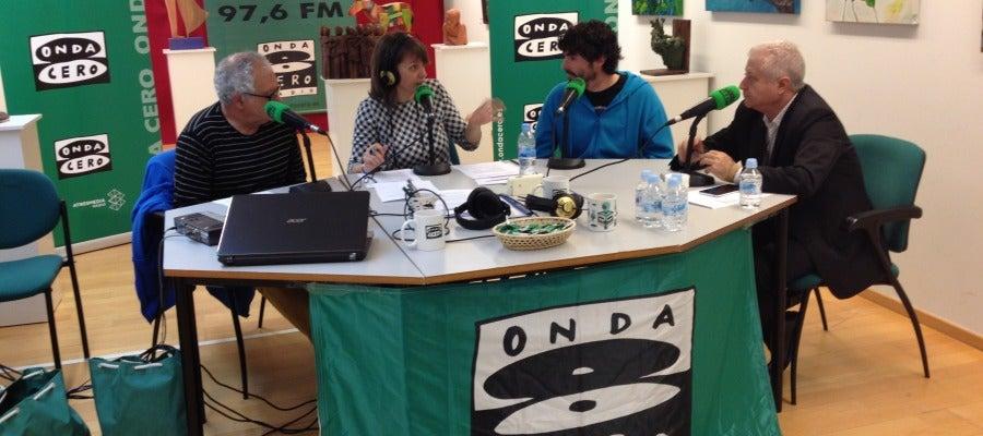Radio en directo desde la Quinta de Cervantes