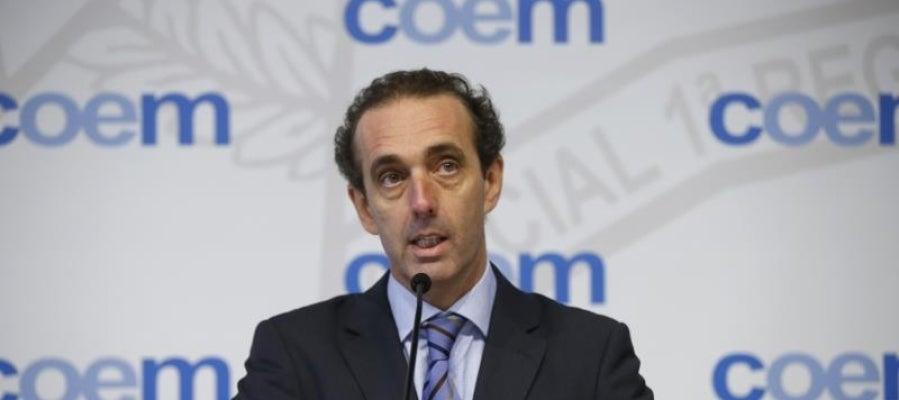 El presidente del Colegio de Odontólogos de Madrid (COEM), Antonio Montero