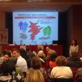 Conferencia sobre brecha salarial en Gijón