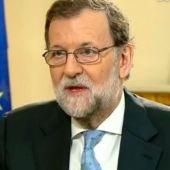 Mariano Rajoy, en una entrevista con Susanna Griso.