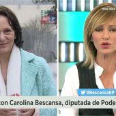 """Frame 25.237762 de: Bescansa: """"España está abocada a una parálisis institucional por una decisión del PSOE"""""""