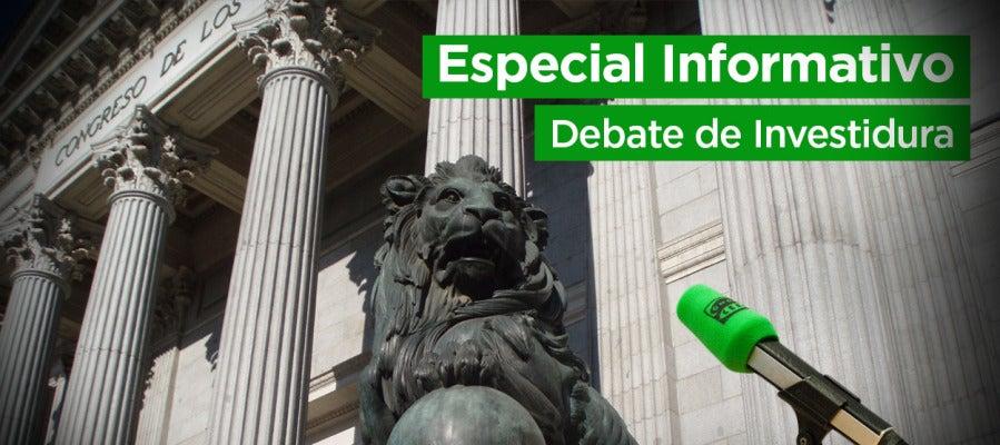Especial informativo del Debate de investidura en Onda Cero