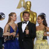 Los protagonistas de la noche de los Oscar.