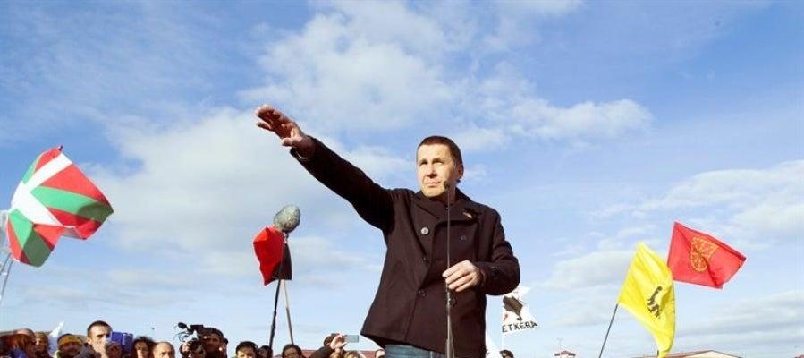 El exdirigente de la izquierda independentista vasca, Arnaldo Otegi