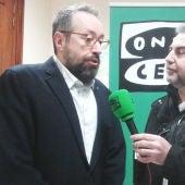 Juan Carlos Girauta con Carlos Alsina en el Congreso