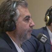 Carlos Alsina durante el especial Más de uno desde el Congreso de los Diputados