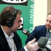 Carlos Alsina con César Luena.