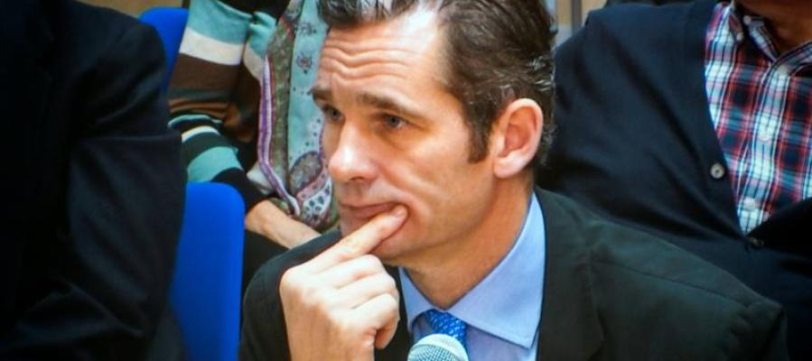 Iñaki Urdangarin, durante su declaración en el juicio Nóos