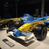El Renault de Fernando Alonso en su museo
