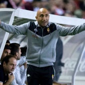Abelardo, técnico del Sporting
