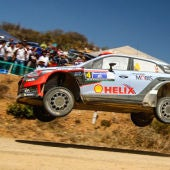 Dani Sordo, en el Rally de México