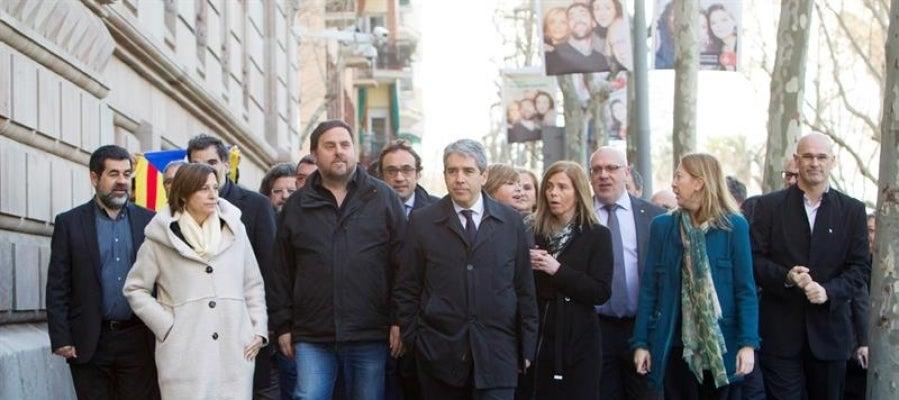 El exconseller de Presidencia y diputado de Democràcia i Llibertat (DiL), Francesc Homs