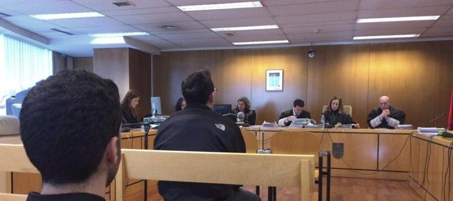El acusado de abusar de menores, durante el juicio en la sección Quinta de la Audiencia de Madrid