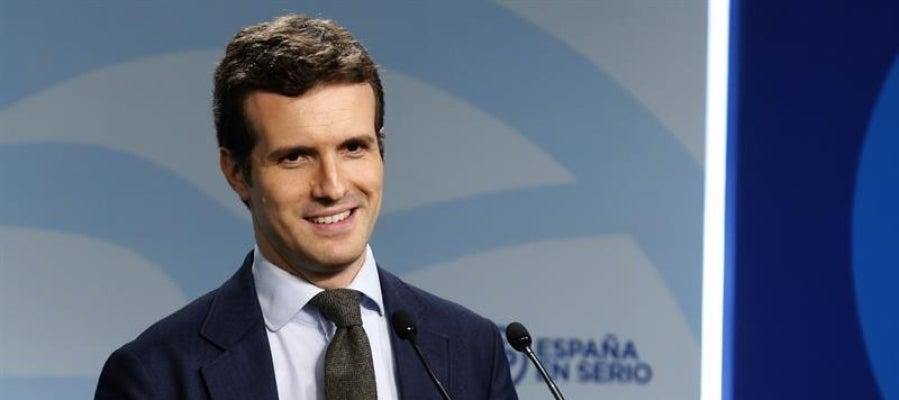El vicesecretario de Comunicación del Partido Popular, Pablo Casado
