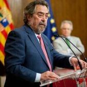 Juan Ignacio Belloch, exministro de Justicia.