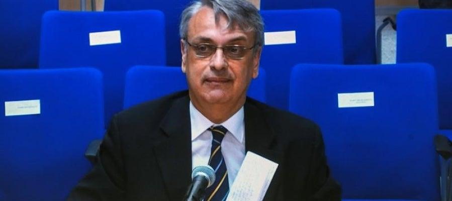 Imagen de Miguel Tejeiro declarando ante el tribunal por el 'caso Nóos'