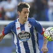 Luis Alberto, delantero del Deportivo