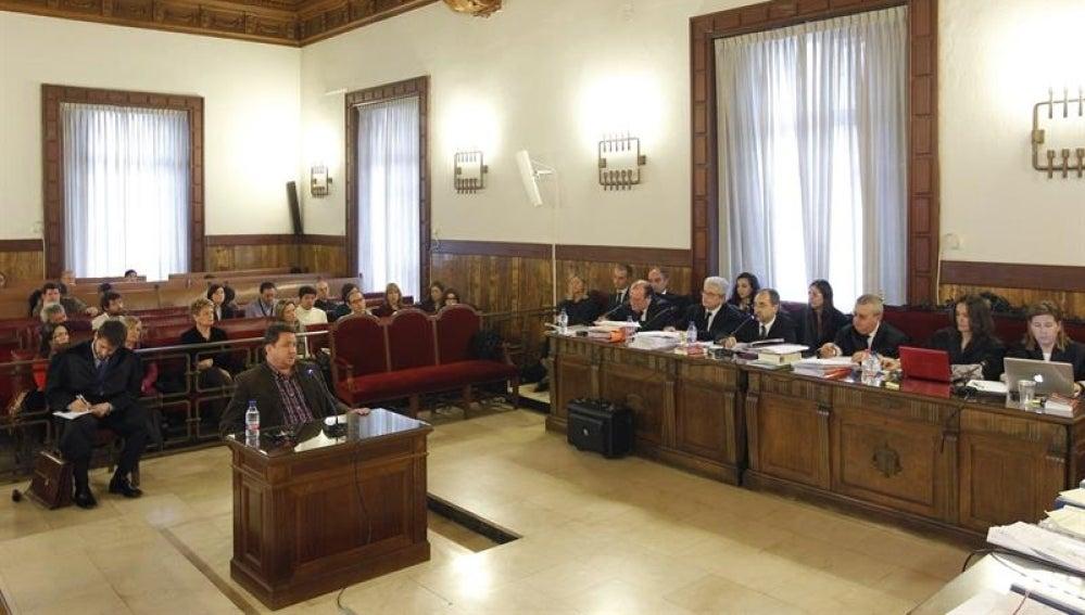 Vista de un juzgado de Valencia