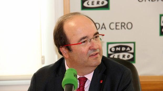 """Miquel Iceta: """"No podemos apoyar un Gobierno que lleva cinco años negándose a dialogar con Cataluña"""""""
