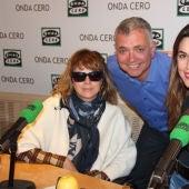 Emma Suárez, Juan Ramón Lucas y Adriana Ugarte