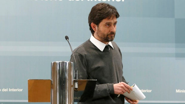 El secretario de relaciones con la sociedad civil de Podemos, Rafael Mayoral