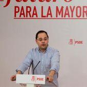 El secretario de Organización del PSOE, César Luena