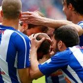 El Alavés celebra el empate