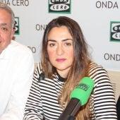 Candela Peña y Juan Ramón Lucas