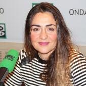 Candela Peña durante una entrevista en Onda Cero
